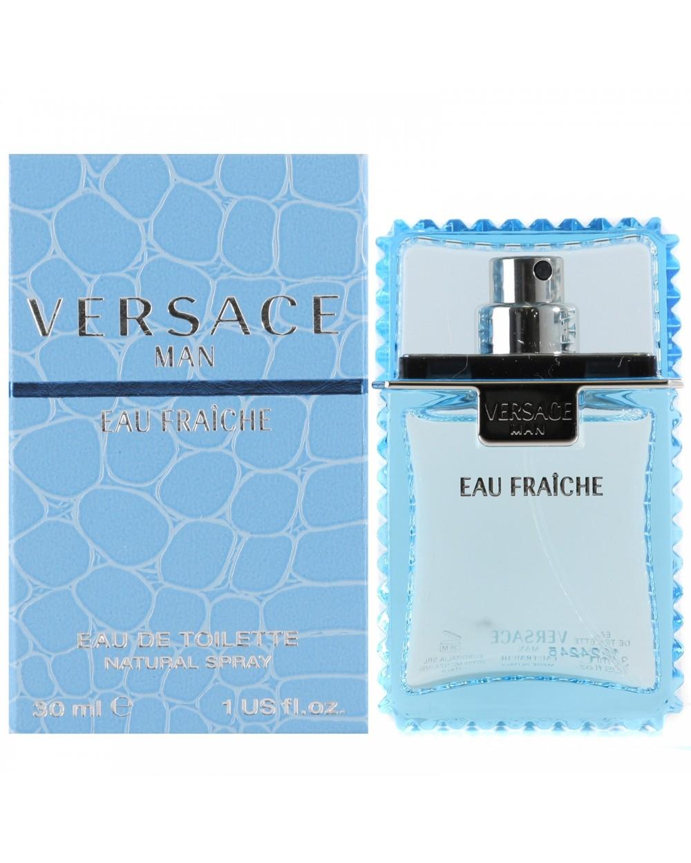 Versace Man Eau Fraiche Eau De Toilette 30ml Sovrana Parfums