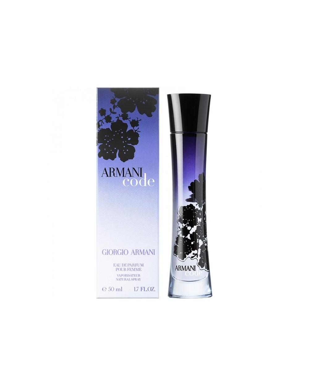 Armani Code Femme Eau De Parfum 50ml Sovrana Parfums