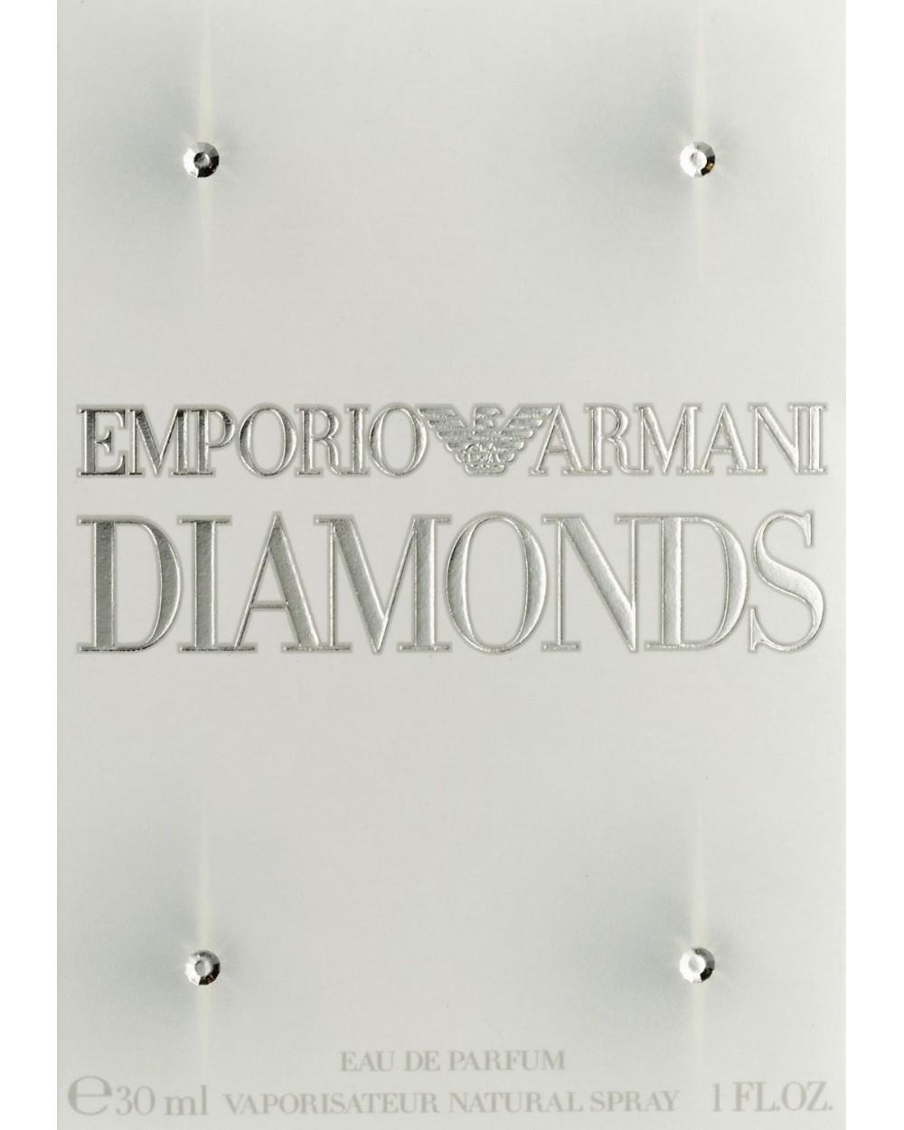 Emporio Armani Diamonds Femme Eau De Parfum 30ml Sovrana Parfums
