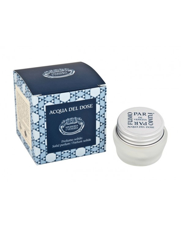 Spezieria De Venezia Acqua Del Dose Solid Parfum 15ml