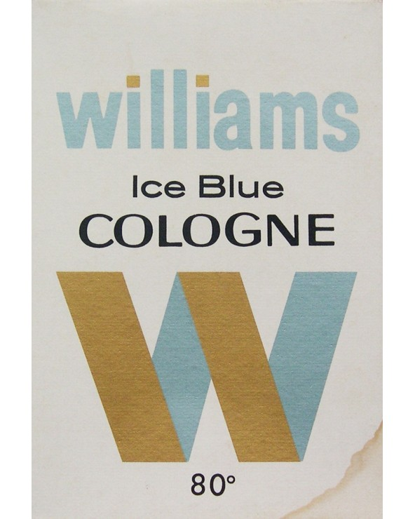 Williams Ice Blue Cologne 80°  50ml