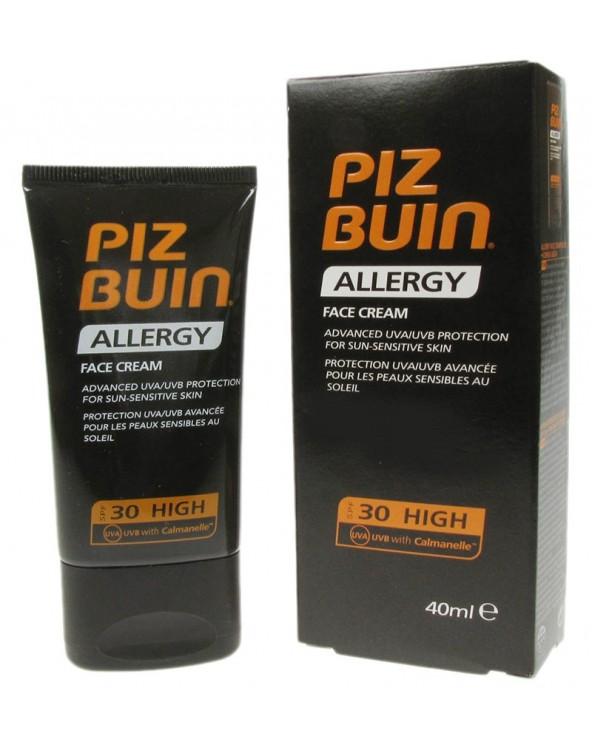 Piz Buin Allergy Face Cream High 30spf 40ml