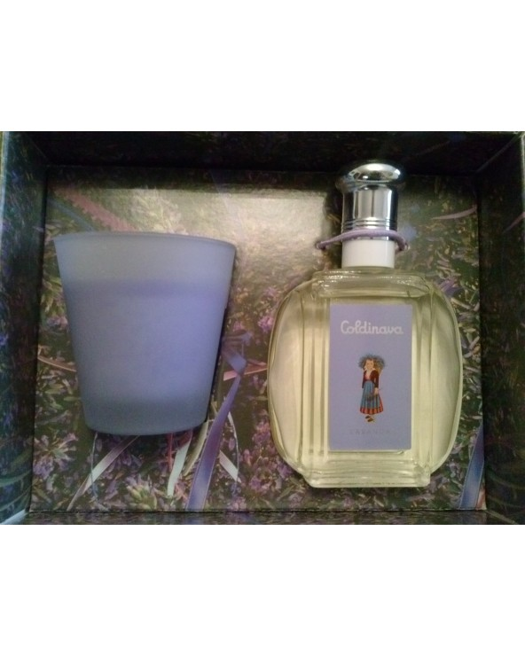 Coldinava Lavanda Eau De Toilette 125ml Candle 150gr