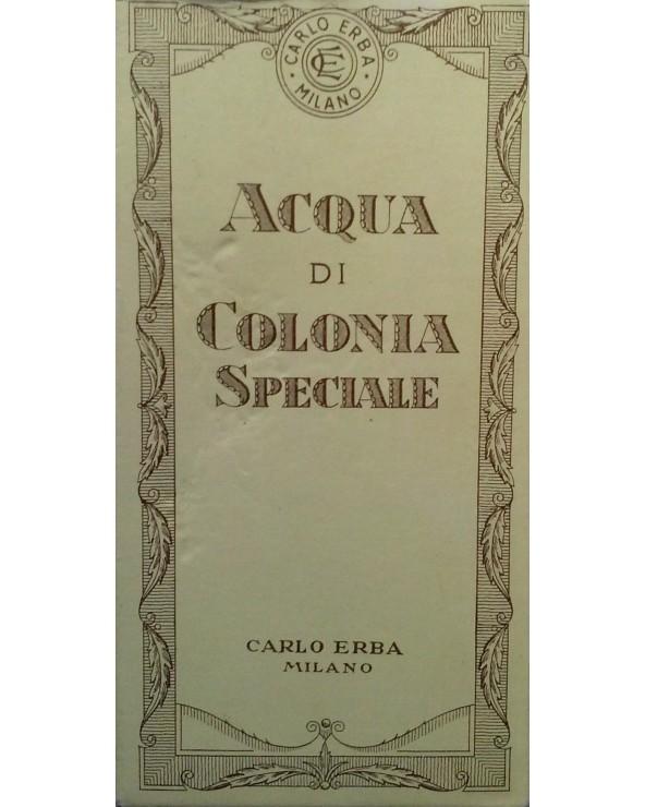 Carlo Erba Milano Acqua di Colonia Speciale