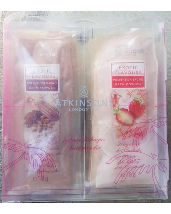 Atkinsons Exotic Flowers Bath Powder 8x18gr
