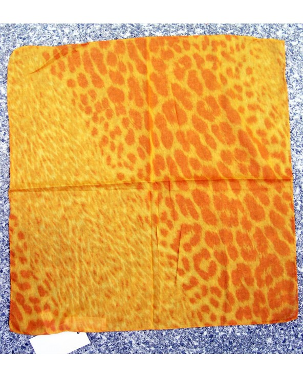 Genny Pochette 50x50cm Animal Yellow Orange Leopard