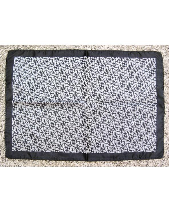 Vivienne Westwood Pochette 50x32cm Black & Silver Logo Design
