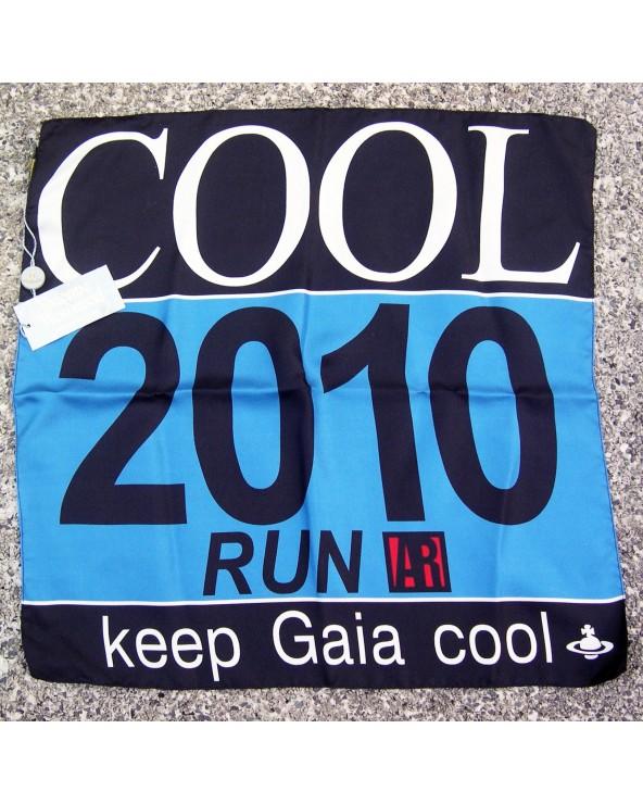Vivienne Westwood Pochette 42x42cm Cool 2010 Run Keep Gaia Cool