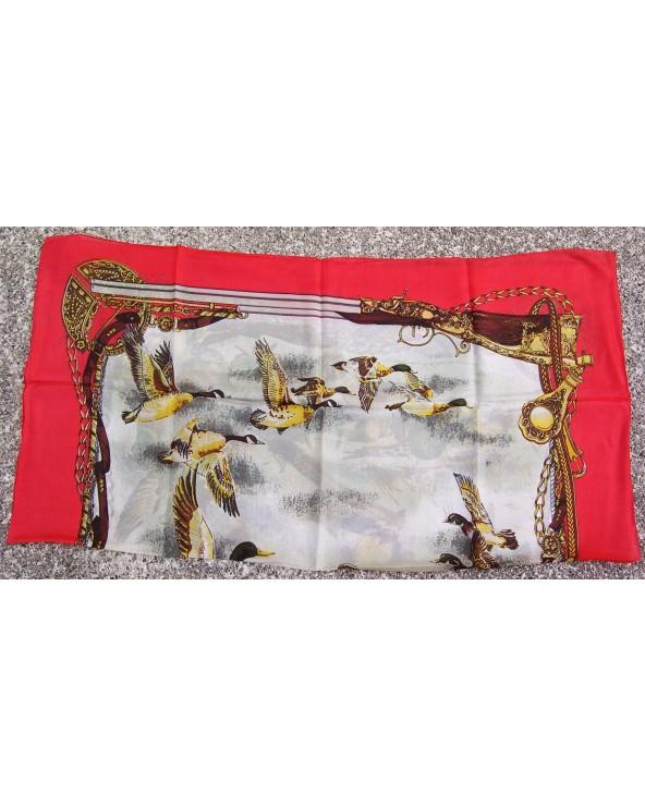 Soprani Emblema by Soprani Foulard 87x87cm Birds & Ducks