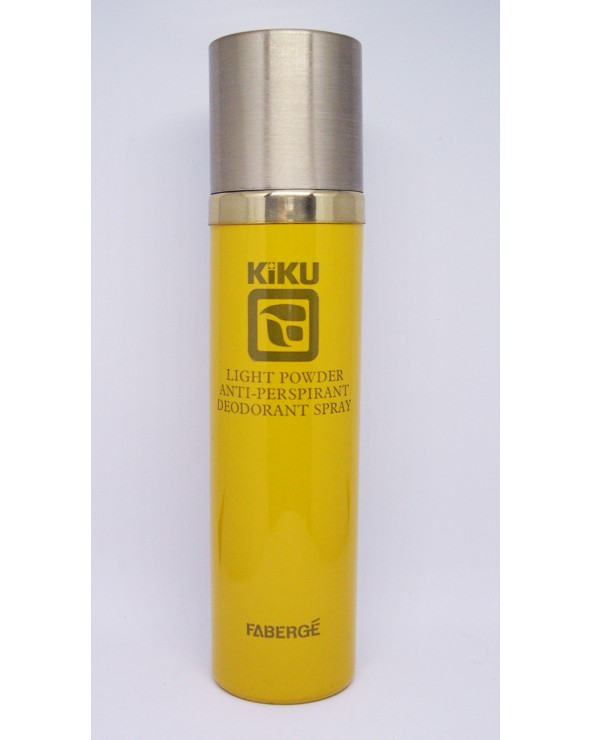 Fabergè Kiku Light Powder Anti-Perspirant Deodorant Spray 118gr