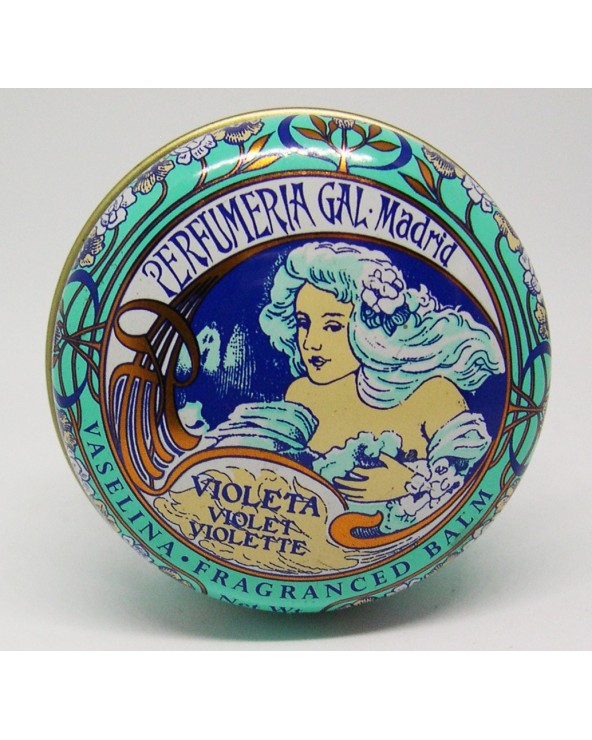 Perfumeria Gal Vaselina Fragranced Lip Balm Violeta Violet Violette 15ml