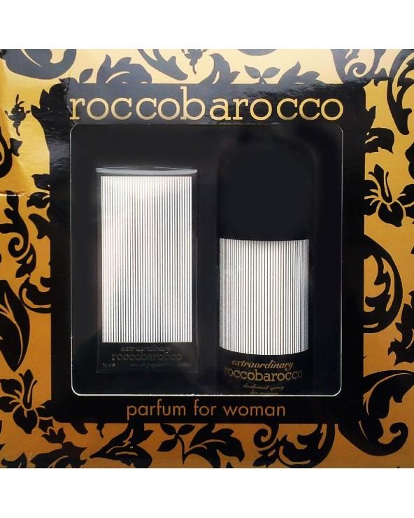 Roccobarocco Extraordinary Woman Parfum & Deo Gift Set
