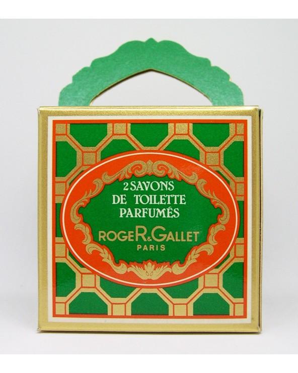 Roger & Gallet Savons De Toilette Parfumés Fougère Fern 2x100gr
