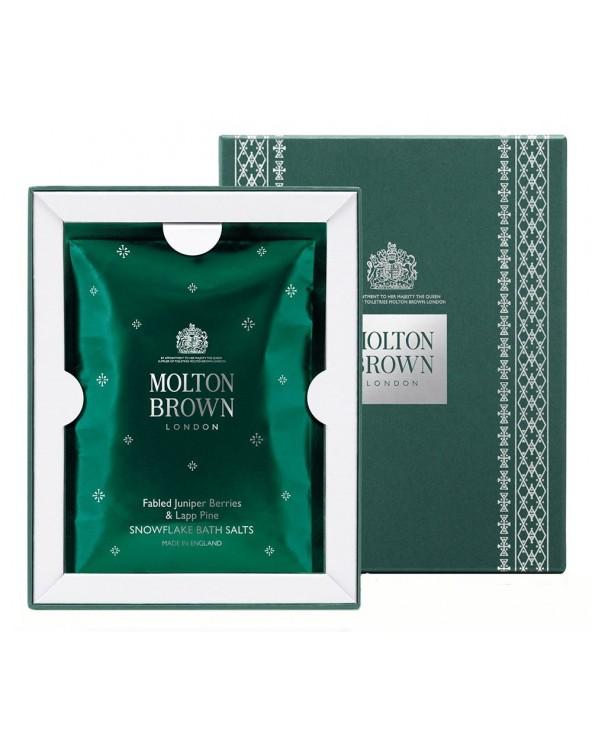 Molton Brown Fabled Juniper Berries & Lapp Pine Snowflake Bath Salts 5x30gr