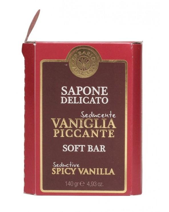 Erbario Toscano Soft Bar Seductive Spicy Vanilla 140gr