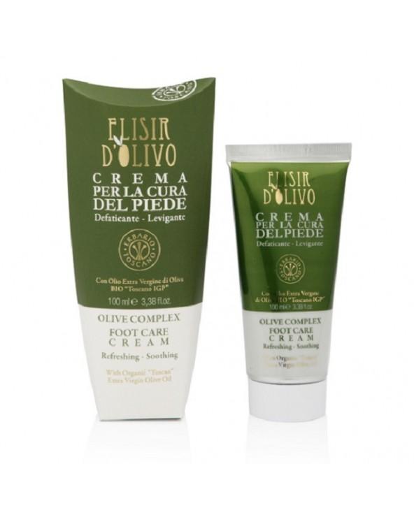 Erbario Toscano Elisir D'Olivo Olive Complex Foot Care Cream 100ml
