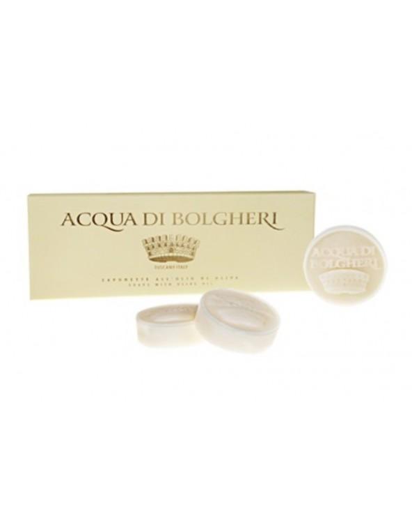 Acqua di Bolgheri Oro Savons à L'Huile d'Olive Or 3x100gr
