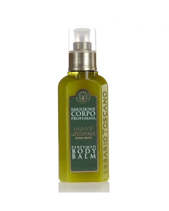 Erbario Toscano Resin Drops Perfumed Body Balm 125ml