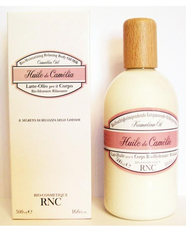 Rancé Rnc 1838 Camélia Lait-Huile pour le Corps Bio-Hydratante Relaxant 500ml