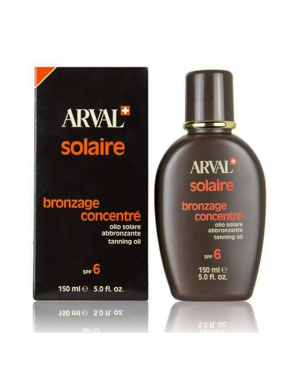 Arval Solaire Bronzage Concentré Tanning Oil SPF 6 150ml