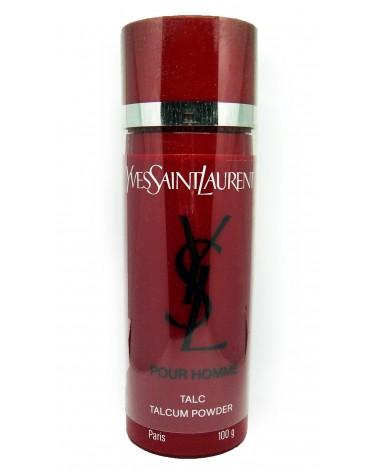 YSL Yves Saint Laurent Pour Homme Talc Talcum Powder 100gr