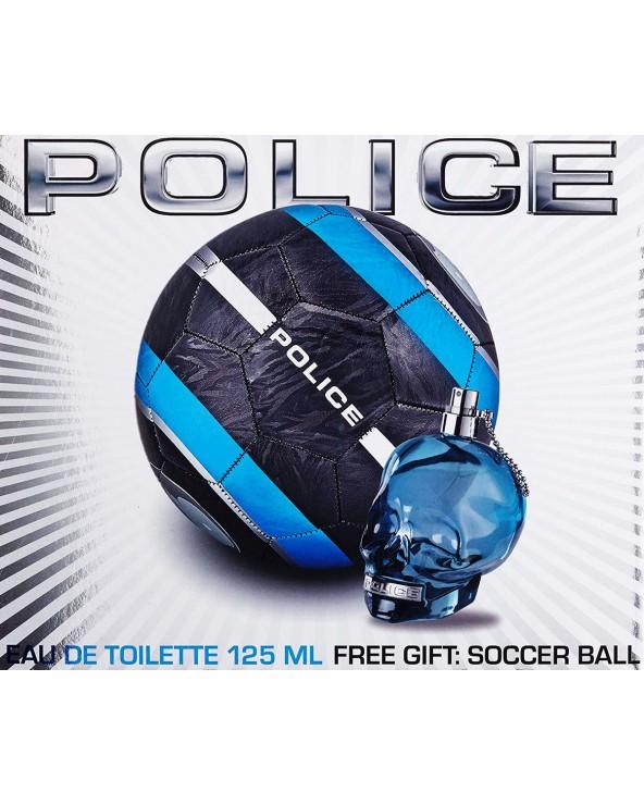 Police To Be Gift Set Eau De Toilette 125ml & Soccer Ball