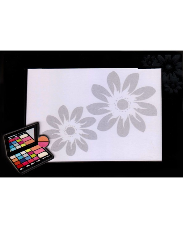 BriConti Palette Trousse Photo Frame 18 Eyeshadow, Lipgloss, Blush