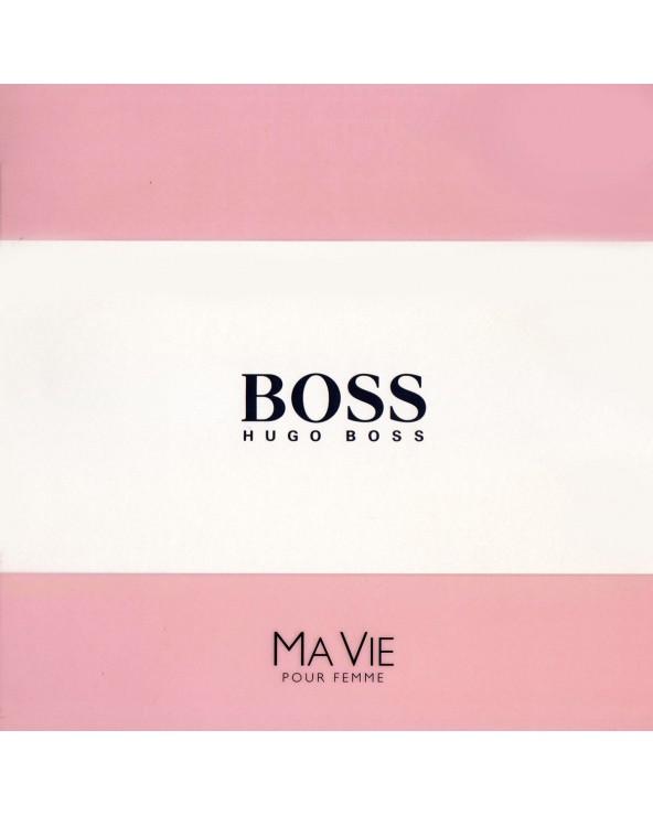 Hugo Boss Ma Vie Pour Femme Gift Set Eau De Parfum Body Lotion