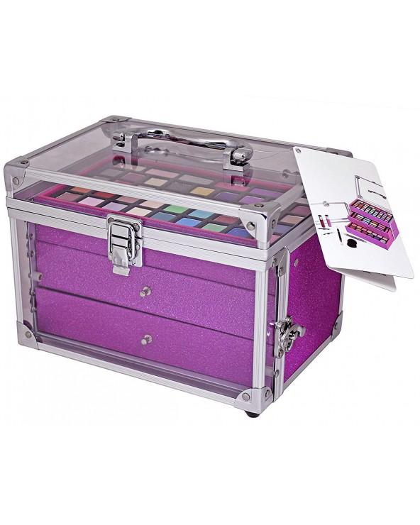 BriConti Trousse Acriylic Meets Glitter Palette Pink Ombretto, Fard Glitter, Kajal