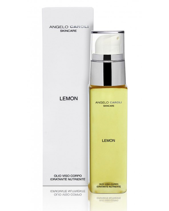 Angelo Caroli Skincare Lemon Nourishing Face & Body Dry Oil Mixed Skin 100ml
